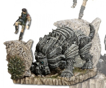 main photo of Shadow of the Colossus One Coin Grande Figure Collection: Cenobia and Wander