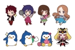 photo of Nendoroid Plus Trading Rubber Straps Mawaru Penguindrum: Oginome Ringo