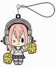 photo of Super Sonico Rubber Strap Collection: Sonico Cheerleader ver.