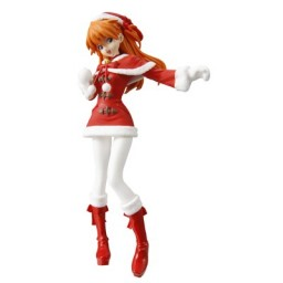 main photo of HGIF Evangelion File 03 Yoshiyuki Sadamoto Collection: Soryu Asuka Langley Red Santa Ver.
