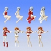 photo of HGIF Evangelion File 03 Yoshiyuki Sadamoto Collection: Ayanami Rei Red Santa Ver.
