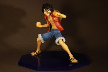 main photo of Portrait Of Pirates LIMITED EDITION Monkey D. Luffy 3D: Mugiwara Chase Ver.