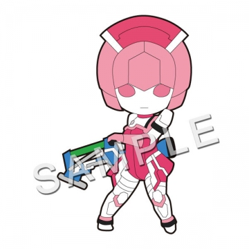 main photo of Pic-Lil! SEGA Heroine Collection Trading Strap: RAcaseal Elenor