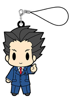 main photo of Gyakuten Saiban / Gyakuten Kenji Rubber Strap vol.1: Naruhodou Ryuuichi