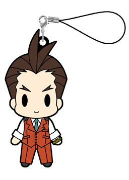 main photo of Gyakuten Saiban / Gyakuten Kenji Rubber Strap vol.1: Odoroki Hosuke