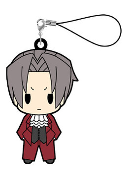 main photo of Gyakuten Saiban / Gyakuten Kenji Rubber Strap vol.2: Mitsurugi Reiji