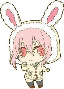 main photo of SoniComi Rubber Strap: Sonico Bunny Ver.