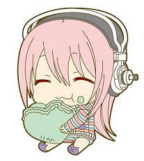 main photo of SoniComi Rubber Strap: Sonico Heart Ver.
