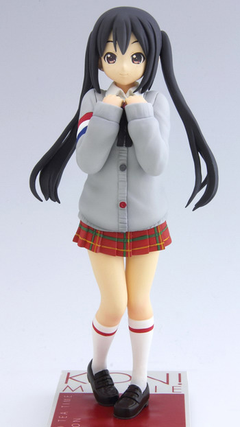 main photo of K-ON! Movie DXF Figure: Nakano Azusa HTT-Gray-Style Ver.