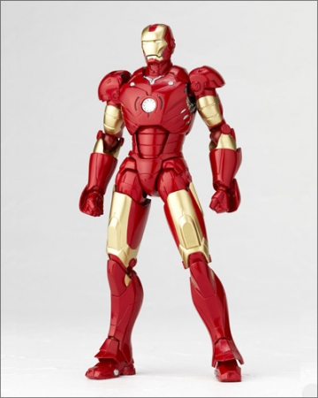 main photo of Sci-Fi Revoltech No. 036: Iron Man Mark III