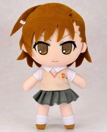 main photo of Nendoroid Plus Plushie Series 46: Mikoto Misaka
