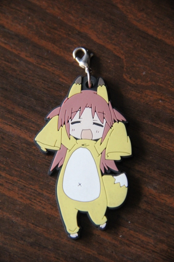 main photo of IS (Infinite Stratos) Trading Rubber Strap: Nohotoke Honne Secret Ver.