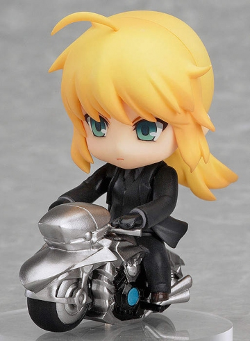 main photo of Nendoroid Petite: TYPE-MOON COLLECTION: Saber motorbike ver.