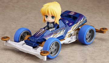 main photo of Nendoroid Petite x Mini 4WD: Saber drives Super Saber Special