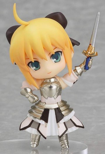 main photo of Nendoroid Petite: TYPE-MOON COLLECTION: Saber Lily ver.