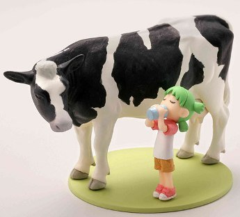 main photo of Capsule Q Fraulein Yotsuba & Monochrome Animals vol.1: Yotsuba & Holstein