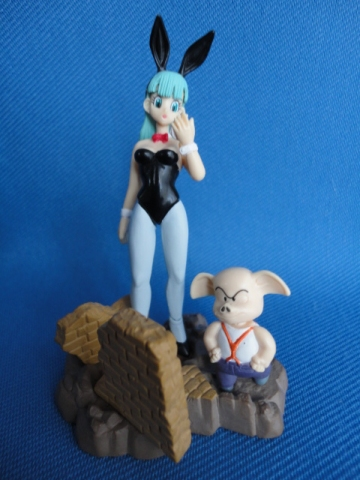 main photo of Dragon Ball Z Imagination Part 4 Bulma Bunny and Oolong