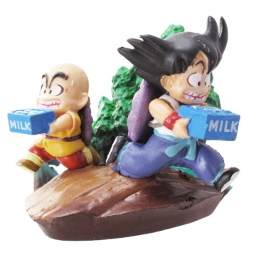 main photo of Neo Capsule Corp Diorama Goku Kulilin Milk Delivery