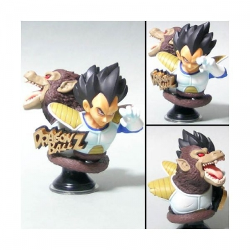 main photo of Dragonball Z Amazing Arts Bust Figure Part 1: Vegeta & Ohzaru Saiyan Battle Armor Ver.