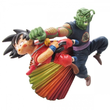 main photo of Neo Capsule Corp Diorama Goku and Piccolo Daimao