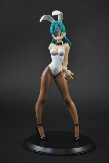 main photo of Deluxe Figure PICHI PICHI Gal: Bulma Bunny Girl White Ver. Part 3