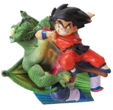 main photo of Neo Capsule Corp Diorama Goku in Battle