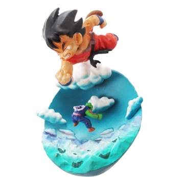 main photo of Neo Capsule Corp Diorama Goku & Defeat of Piccolo