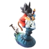 photo of Neo Capsule Corp Diorama Goku and Senzu Bean Cat Korin