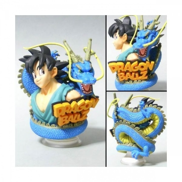 main photo of Dragonball Z Amazing Arts Bust Figure Part 1: Son Goku & Shenron
