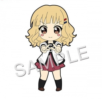 main photo of Pic-Lil! YuruYuri 2nd Season Trading Strap: Sakurako Ohmuro