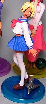 main photo of Love Hina Limited Edition DVD Promo Figures: Kaolla Su