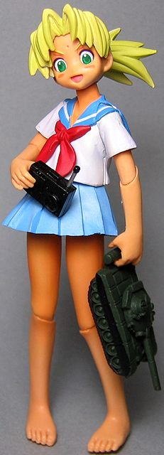 main photo of Love Hina Action Figures: Kaolla Su