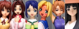 photo of Love Hina Limited Edition DVD Promo Figures: Motoko Aoyama