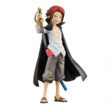 main photo of Half Age Characters One Piece Promise of the Straw Hat: Red-Haired Shanks