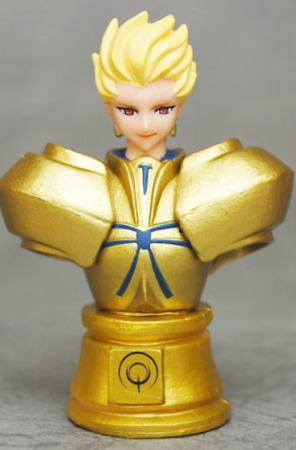 main photo of Fate/Zero Chess Piece Collection: Gilgamesh Colored Ver.