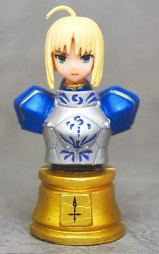 main photo of Fate/Zero Chess Piece Collection: Saber Colored Ver.