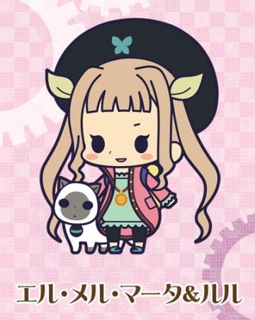 main photo of Rubber Strap Collection Tales of Xillia 2: Elle Mel Mata