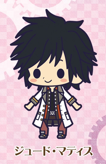 main photo of Rubber Strap Collection Tales of Xillia 2: Jude Mathis
