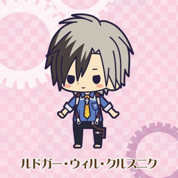 main photo of Rubber Strap Collection Tales of Xillia 2: Ludger Will Kresnik