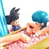 Neo Capsule Corp Diorama Goku and Bulma in Bath