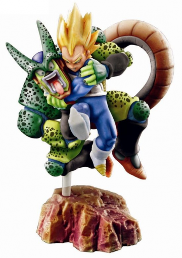 main photo of Dragon Ball Capsule Neo Cell-Kai: Super Vegeta vs Cell