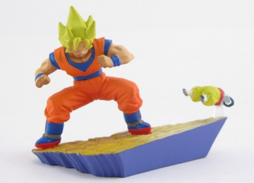 main photo of Dragon Ball Capsule Neo Cell-Kai: Goku vs Android #19