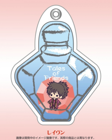 main photo of Tales of Friends Gel Strap Collection Vol.1: Raven