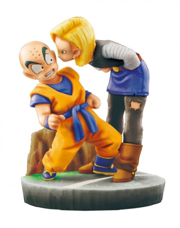 main photo of Dragon Ball Capsule Neo Cell-Kai: Kulilin & Android #18