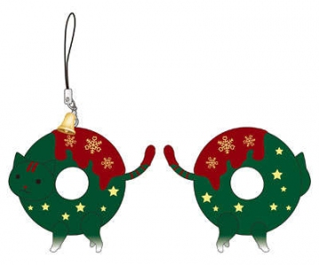 main photo of Okashina Strap: Christmas Donyatsu Green