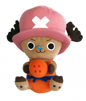 main photo of Dragon Ball Z x One Piece: Chopper Plush