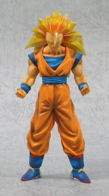 main photo of High Quality Colouring Figure: Son Goku SSj3