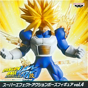 main photo of Super Effect Action Pose Figure Vol.4: Trunks
