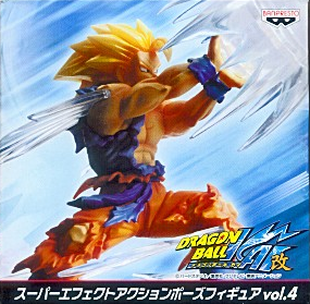 main photo of Super Effect Action Pose Figure Vol.4: Son Goku