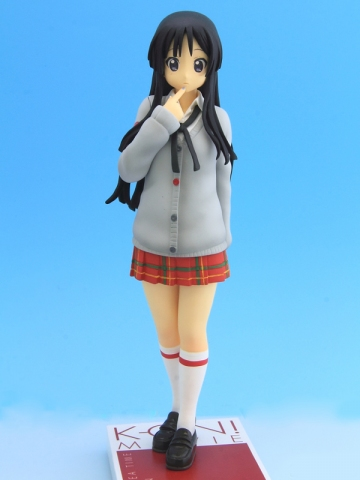 main photo of K-ON! Movie DXF Figure: Akiyama Mio HTT Gray Style Ver.